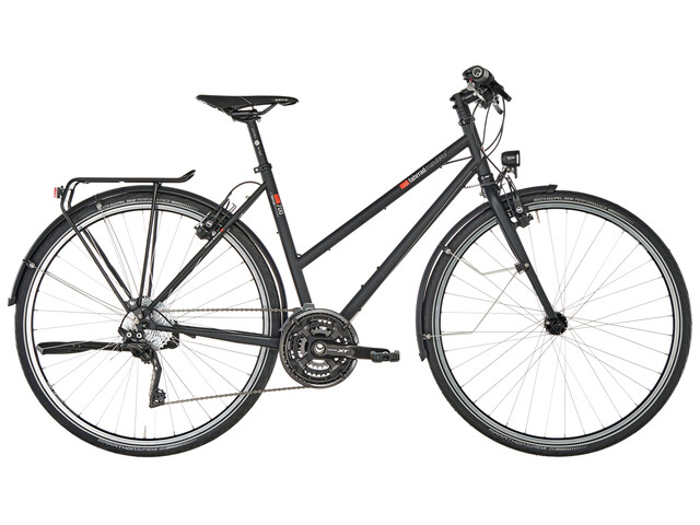vsf fahrradmanufaktur T-700 Trekkingcykel Trapez XT 30-växlad skiva svart